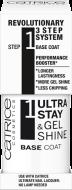 Базовое покрытие для ногтей CATRICE Ultra Stay & Gel Shine Base Coat: фото