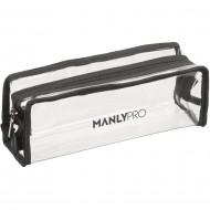 Косметичка визажиста прозрачная из резины Manly Pro КЕ51: фото