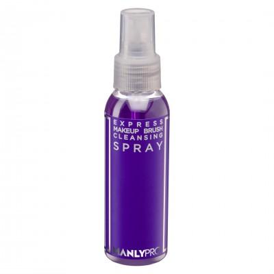 Экспресс-очиститель кистей для макияжа с антибактериальным эффектом Manly Pro КО10 100мл: фото