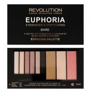 Палетка для макияжа лица Makeup Revolution Euphoria Palette Bare: фото