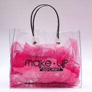 Косметичка-сумка прозрачная MAKE-UP-SECRET: фото