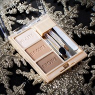 ТЕНИ ДЛЯ БРОВЕЙ С ХАЙЛАЙТЕРОМ Milani Cosmetics (BROW FIX KIT) 01 LIGHT: фото