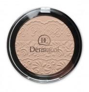 Компактная пудра Dermacol Compact powder with lace relief тон 1: фото