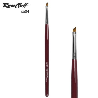 Кисть скошенная для макияжа глаз Roubloff sa04: фото