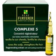 Концентрат стимулирующих эфирных масел для волос Complex 5 Rene Furterer Salon 24 ампулы: фото