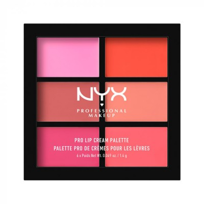 Палетка помад NYX Professional Makeup Pro Lip Cream Pallete - PINKS 01: фото