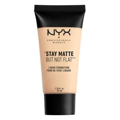 Тональная основа NYX Professional Makeup Stay Matte But Not Flat Liquid Foundation - IVORY 01: фото