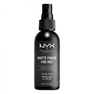 Спрей для фиксации макияжа NYX PROFESSIONAL MAKEUP MAKE UP SETTING SPRAY - MATTE 01: фото