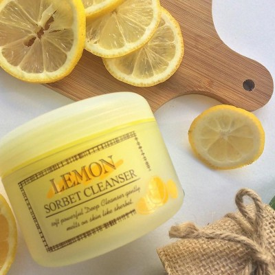 Очищающий сорбет с экстрактом лимона THE SKIN HOUSE Lemon sorbet cleanser 100мл: фото