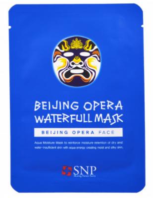 Маска для лица SNP Beijing opera waterfull mask 25 мл: фото