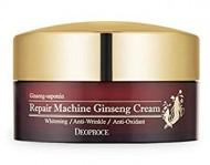 Крем антивозрастной с женьшенем DEOPROCE Repair machine ginseng cream 100г: фото