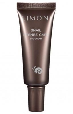 Крем для век интенсивный с муцином улитки LIMONI Snail Intense Care Eye Cream 25 мл: фото