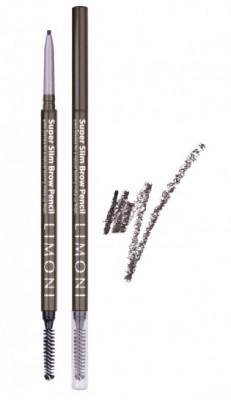 Карандаш для бровей LIMONI Super Slim Brow Pencil 01: фото