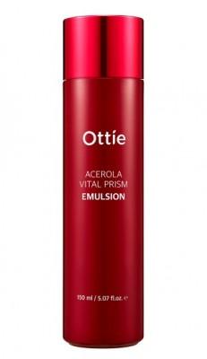 Эмульсия с экстрактом ацеролы OTTIE Acerola Vital Prism Emulsion 150мл: фото