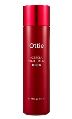Тонер с экстрактом ацеролы OTTIE Acerola Vital Prism Toner 150мл: фото