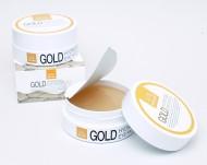 Гидрогелевые патчи (маски в виде лепестков под глаза) с золотом Misoli: фото
