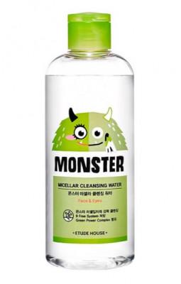 Мицеллярная вода ETUDE HOUSE Monster Micellar Cleansing Water 300мл: фото