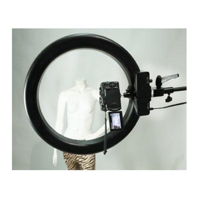 "Кольцевая лампа Stellar Diva 18"" CEL-R18C Ring Light w/ Dimmer + Photo Stand: фото"