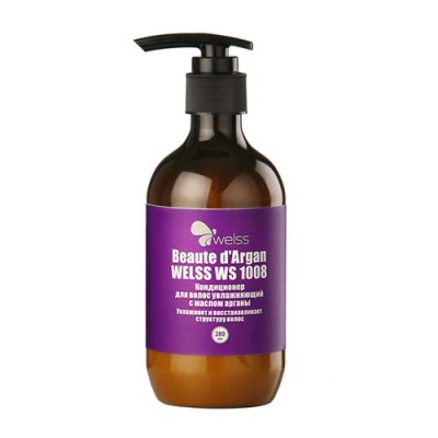 Кондиционер для волос увлажняющий с маслом арганы WELSS Beaute d`Argan 280мл: фото
