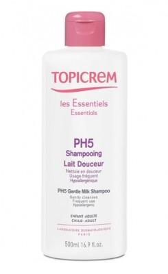Мягкий шампунь pH5 TOPICREM 500мл: фото