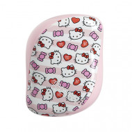 Расческа TANGLE TEEZER Compact Styler Hello Kitty Candy Stripes розовый: фото