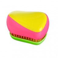 Расческа TANGLE TEEZER Compact Styler Kaleidoscope желтая: фото