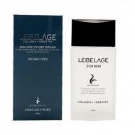 Лосьон для мужчин Увлажняющий с коллагеном и зеленым чаем Lebelage Collagen+Green Tea Skincare Utilites 150 мл: фото