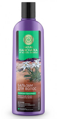 Бальзам эффектный объем и пышность волос Natura Siberica Снежный бриллиант 280мл: фото