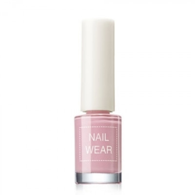 Лак для ногтей The Saem Nail Wear 01.Pastel pink 7мл: фото
