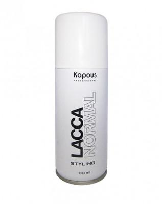 Лак аэрозольный для волос нормальной фиксации Лак аэрозольный для волос нормальной фиксации Kapous Styling 100мл: фото