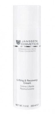 Крем восстанавливающий с лифтинг-эффектом Janssen Cosmetics Lifting&Recovery Cream 200 мл: фото