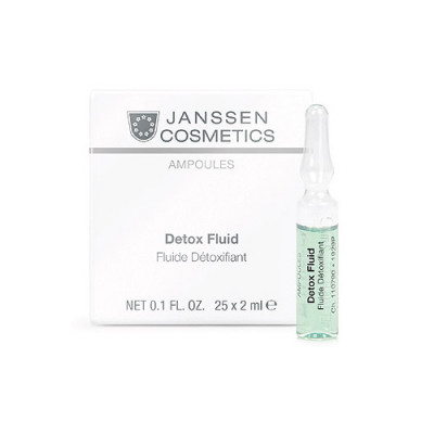 Сыворотка-детокс в ампулах Janssen Cosmetics Detox Fluid 7*2 мл: фото