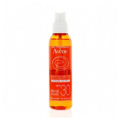 Солнцезащитное масло SPF30 Avene Suncare 200 мл: фото