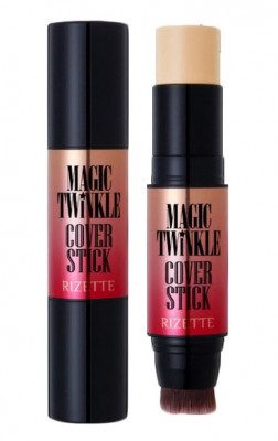 Маскирующий карандаш Lioele Rizette Magic Twinkle Cover Stick SPF50+ PA+++ №23 12,5г: фото