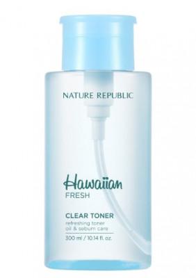 Тонер для лица очищающий NATURE REPUBLIC Hawaiian Fresh Clear Toner 500мл: фото