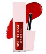 Тинт для губ вельветовый SECRET KEY Sweet Glam Velvet Tint 05 Deep Cherry 5г: фото