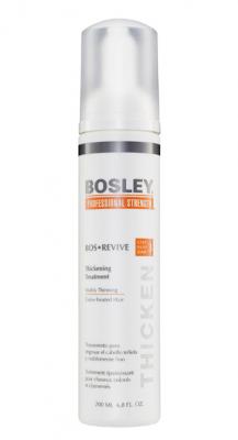 Уход, увеличивающий густоту истонченных окрашенных волос Bosley Bos Revive Step 3 Thickening Treatment Visibly Thinning Color-Treated Hair 200мл: фото