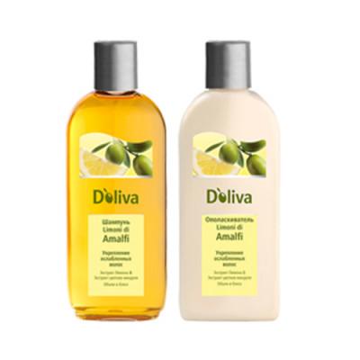 Ополаскиватель для укрепления ослабленных волос D`oliva Limoni di Amalfi 200мл: фото