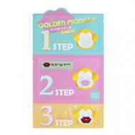 Набор для ухода за губами Holika Holika Golden Monkey Glamour Lip 3-Step Kit: фото