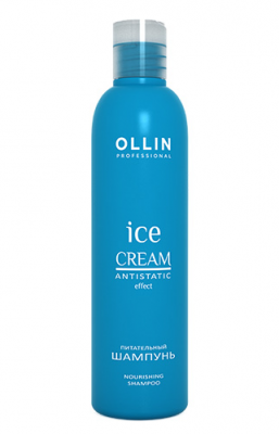 Шампунь питательный OLLIN ICE CREAM Nourishing Shampoo 250мл: фото
