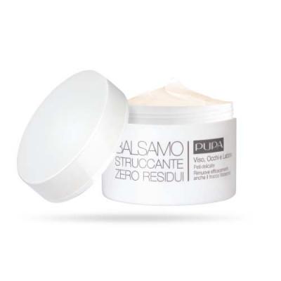 Бальзам для удаления макияжа для чувствительной кожи PUPA ZERO RESIDUE MAKE-UP REMOVING BALM 100мл: фото