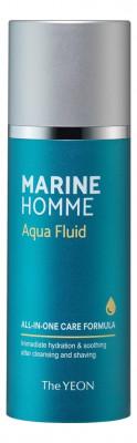 Флюид для лица мужской The YEON Marine Homme Aqua Fluid 120мл: фото