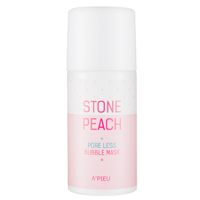 Маска для лица кислородная A'PIEU Stone Peach Pore Less Bubble Mask 60гр: фото