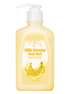Гель для душа Berrisom G9 MILK CREAMY BODY WASH BANANA 520г: фото