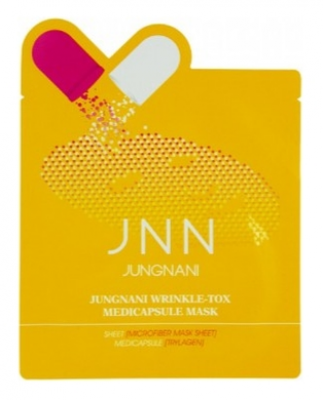 Маска тканевая антивозрастная JUNGNANI JNN WRINKLE TOX MEDICAPSULE MASK 23мл: фото
