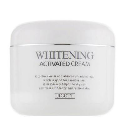 Крем отбеливающий JIGOTT Whitening Activated Cream: фото