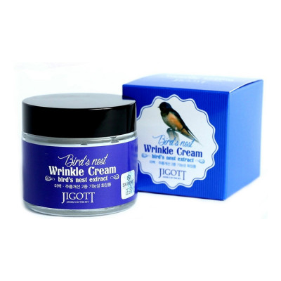 Крем антивозрастной с экстрактом ласточкиного гнезда JIGOTT Bird'S Nest Wrinkle Cream: фото