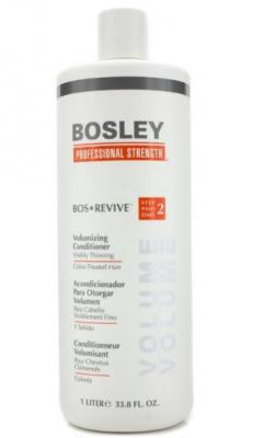 Кондиционер для объема истонченных окрашенных волос Bosley Bos Revive Step 2 Volumizing Conditioner Visibly Thinning Color-Treated Hair 1000мл: фото