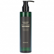 Сыворотка для волос увлажняющая с маслом арганы и моринги EUNYUL BLACK SEED THERAPY MOISTURIZING HAIR SERUM, 200ml: фото