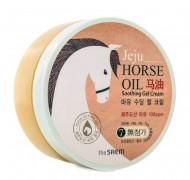 Крем-гель на основе конского жира THE SAEM Horse Oil Soothing Gel Cream 300мл: фото